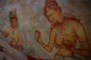 Galería de las Doncellas, Sri Lanka