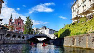 Puente Triple, Liubliana, Eslovenia