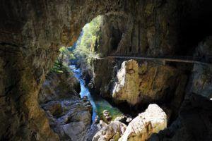 Sala Schmidl,  Cuevas de Skocjan, Eslovenia