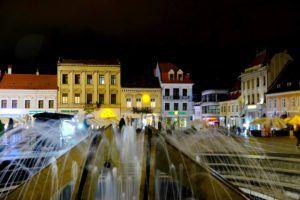 Plaza Sfatuli, Brasov, Rumanía