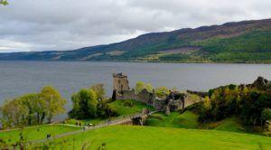 Castillo de Urquhart, Lago Ness, Escocia