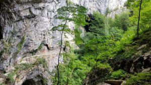 Gran Valle, Velika Dolina,  Cuevas de Skocjan, Eslovenia