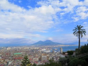 Vistas desde Castel Sant Elmo, Nápoles