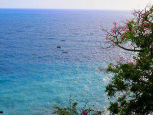 Vistas desde la carretera de la costa Amalfitana