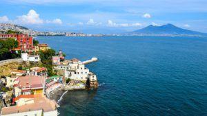 Bahía de Nápoles, Italia