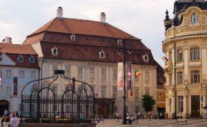 Palacio Brukenthal, Sibiu, Rumania