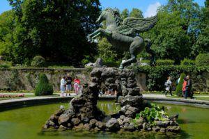 Jardines del Palacio de Mirabell, Salzburgo, Austria