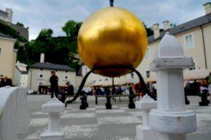Plaza Kapitelplatz, Salzburgo, Austria