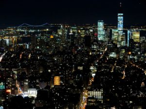 Vistas desde el Empire State Building, New York