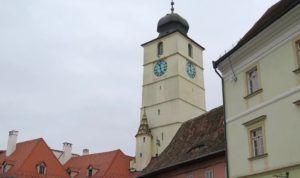 Torre del Consejo, Sibiu, Rumania