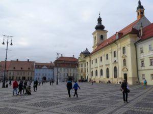 La Piata Mare o Plaza Grande, Sibiu, Rumania