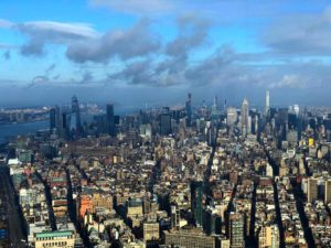 Vistas desde el One World Trade Observatory, New York