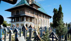 Cementerio Alegre de Sapanta (Sapantza), Maramures, Rumania