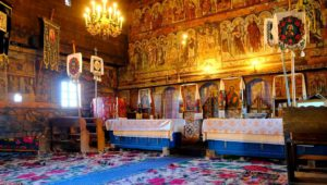 La Iglesia de madera de Budesti, Maramures, Rumania