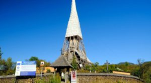 La Iglesia de madera de Poplis, Maramures, Rumania