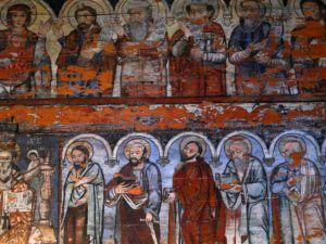 La iglesia de madera de Surdesti, Maramures, Rumania