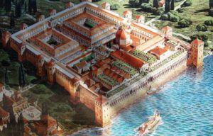 Palacio de Diocleciano en la antiguedad