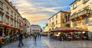 Plaza del Pueblo, Split, Croacia