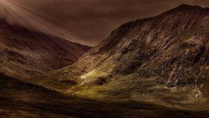 Valle de Glencoe, Escocia