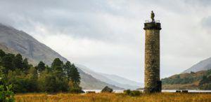 Monumento de Glenfinnan, Escocia