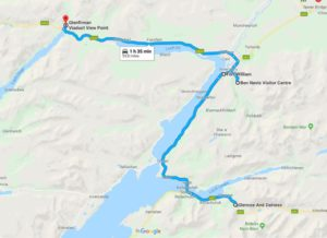 Ruta desde Fort William