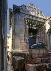Templo de Jupiter, hoy en día el Baptisterio