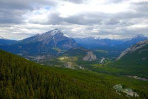 Vistas desde Gondola Banff