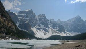 Moraine Lake, Parque Nacional de banff, Canadá