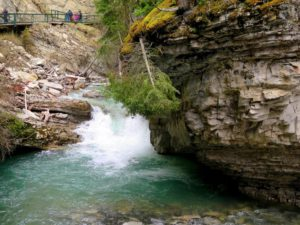 Johnston Canyon, P.N. Banff, Canadá
