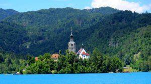 Iglesia de la Asunción, Lago Bled, Eslovenia