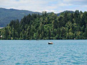 El Lago Bled, Eslovenia