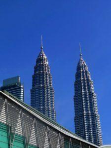 Torres Petronas desde el Triangulo Dorado, Kuala Lumpur