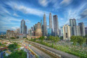 Skyline de Kuala Lumpur, Malasia
