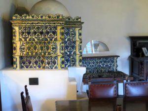 Interiores del Castillo de Bran, Rumanía
