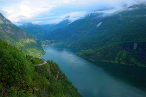 Vistas del Fiordo Geiranger, el más bonito de Noruega