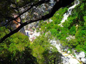 Paraje que rodea al Cañón Gorropu