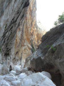 Cañón Gorropu, Cerdeña