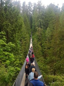 Capilano Suspension Bridge, Vancouver, Canadá