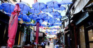 El animado Barrio Turco de Skopje