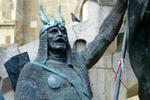 Estatua de Matías Corvino