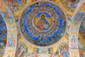 Frescos de la Iglesia de la Natividad de la Virgen