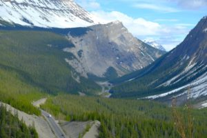Big Hill and Big Bend, Icefields Parkway