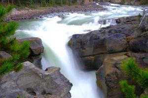 Sunwapta Falls, Icefields Parkway