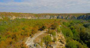 Pasisajes de la ruta camino a las Iglesias Rupestres de Ivanovo, Bulgaria
