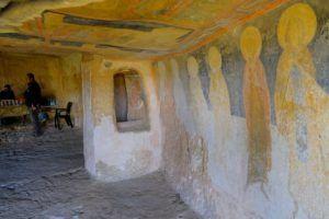 Frescos de las Iglesias rupestres de Ivanovo, Bulgaria