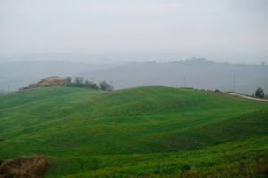 Crete Senesi Panoramic Point, Toscana, Italia