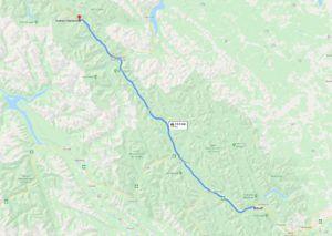Icefields Parkway,  cómo llegar, recorrer y qué ver