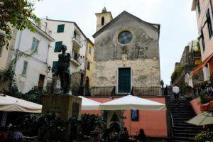 Iglesia de Santa Caterina, Corniglia, Cinque Terre, Italia