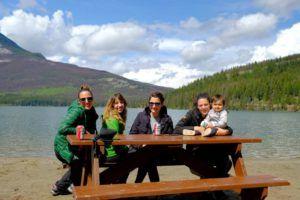 Nómadas en Jasper, Canadá