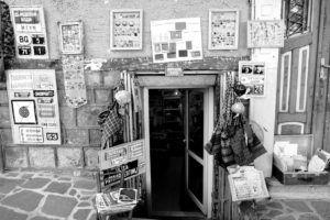 Tiendas de segunda mano en la Ciudad alta de Plovdiv